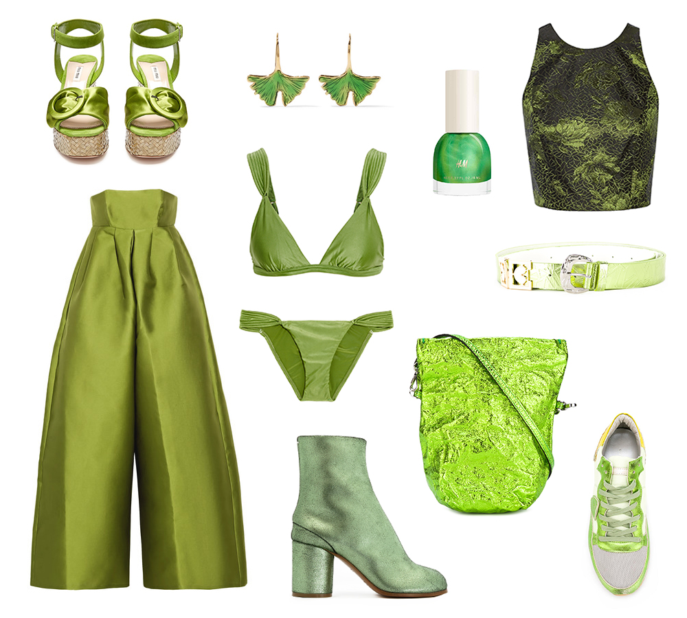 greenery metallic