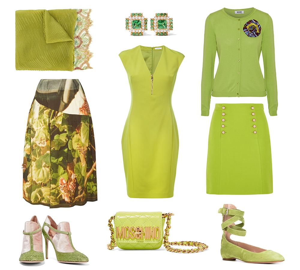 greenery + warm tones