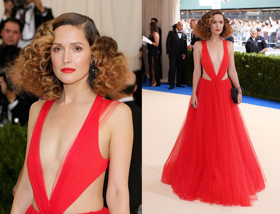 rose byrne in ralph lauren met