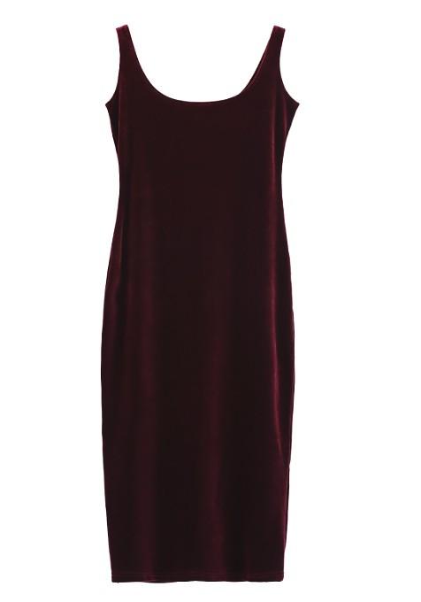 zaful velvet dress
