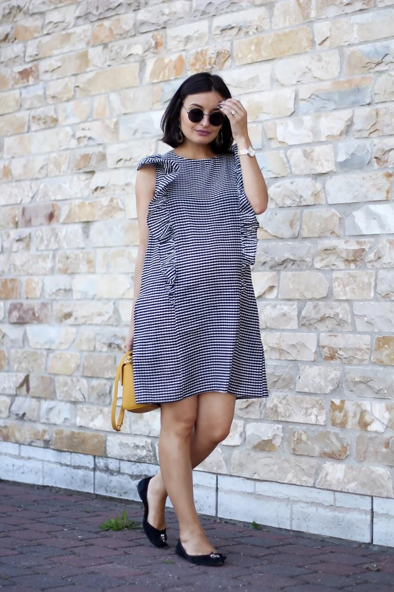 Check dress 1