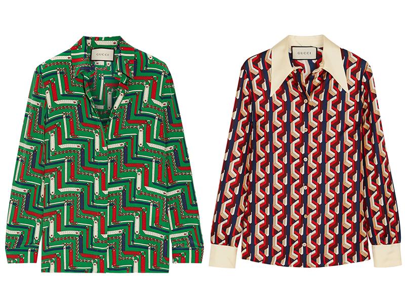 Gucci vintage shirts