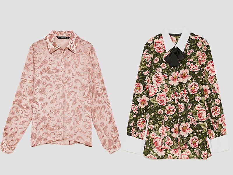 Zara vintage shirts