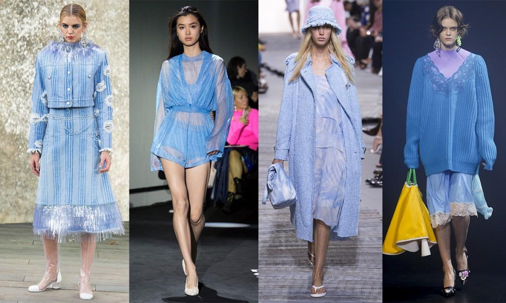 Color trends Spring 2018 Little Boy Blue