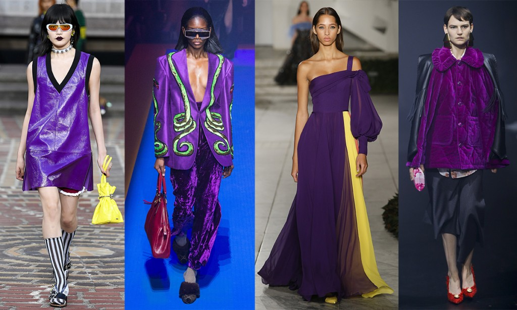 Colorr trends Spring 2018 Ultra Violet