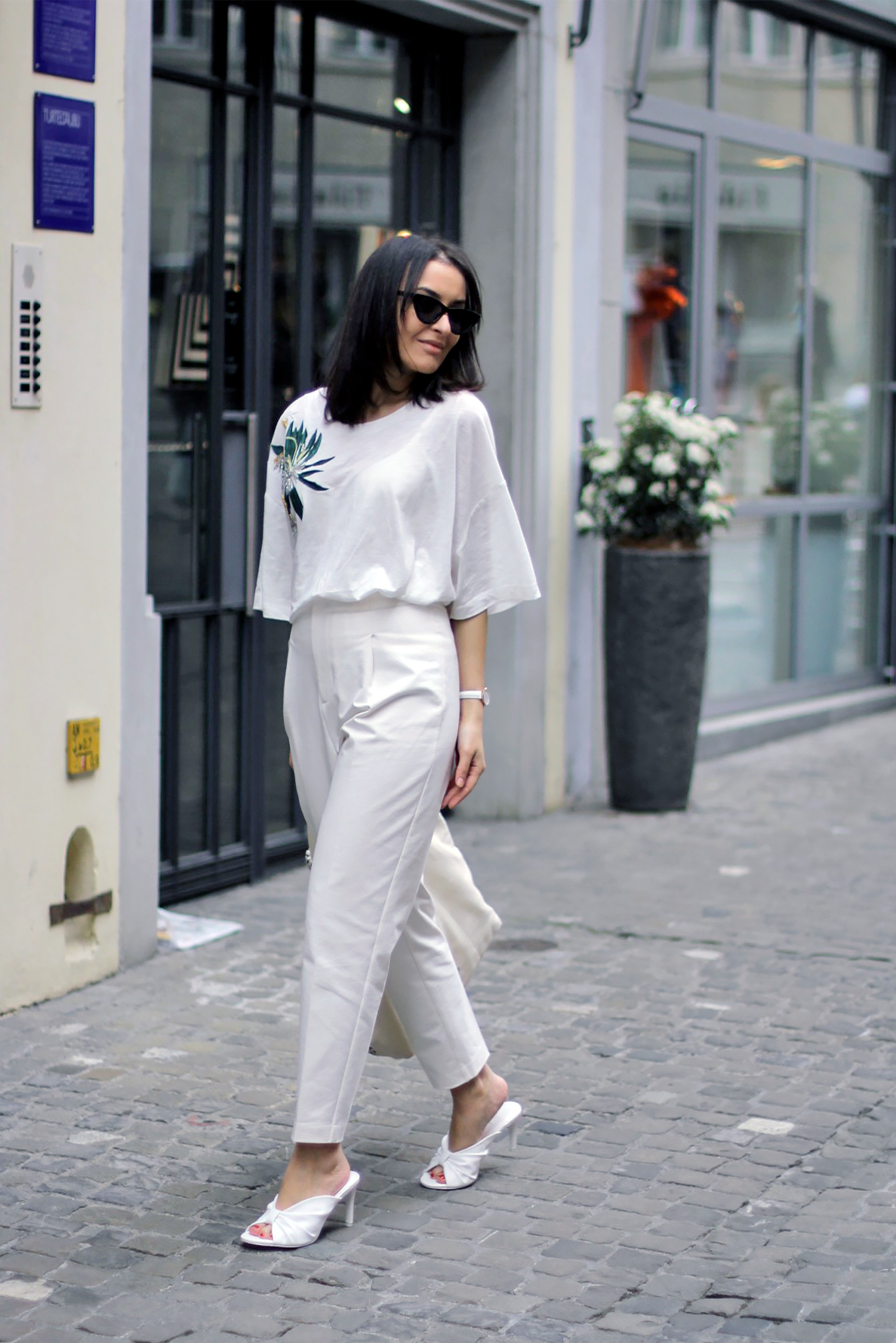 Total White Outfit 2
