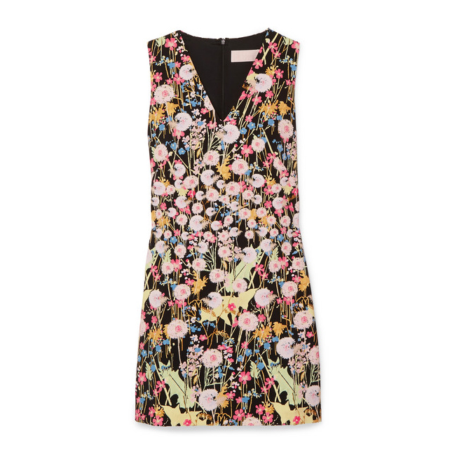 PETER PILOTTO Floral-print cady mini dress€680