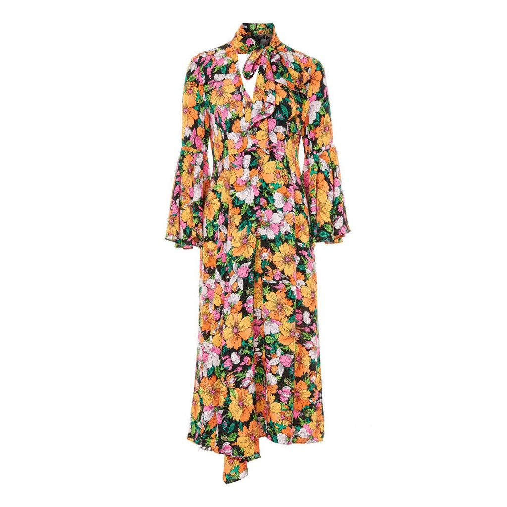 Topshop TALL Heavy Petal Chuck On Dress 68,00 €