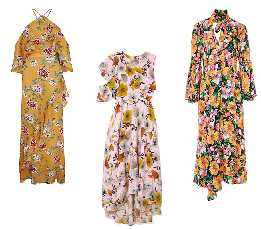 dresses in bloom