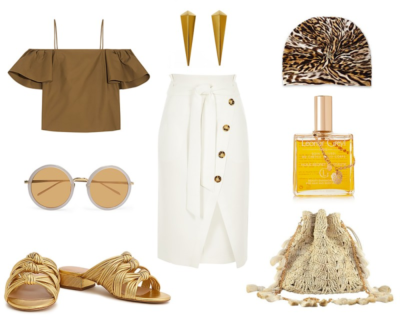 Summer Vacation Outfit Idea 3
