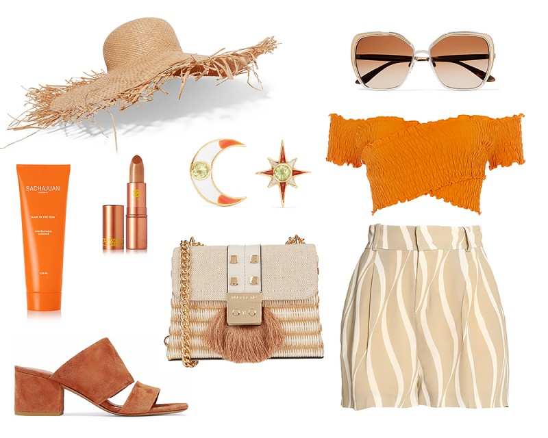 Summer Vacation Outfit Idea 9