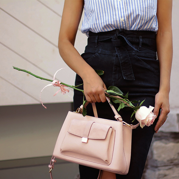 Navy Denim + Old Rose