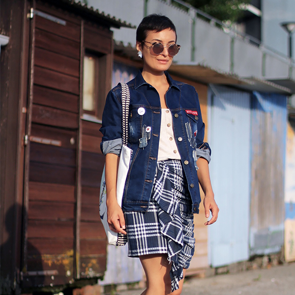 Checks x Pixie x Chunky Sneakers