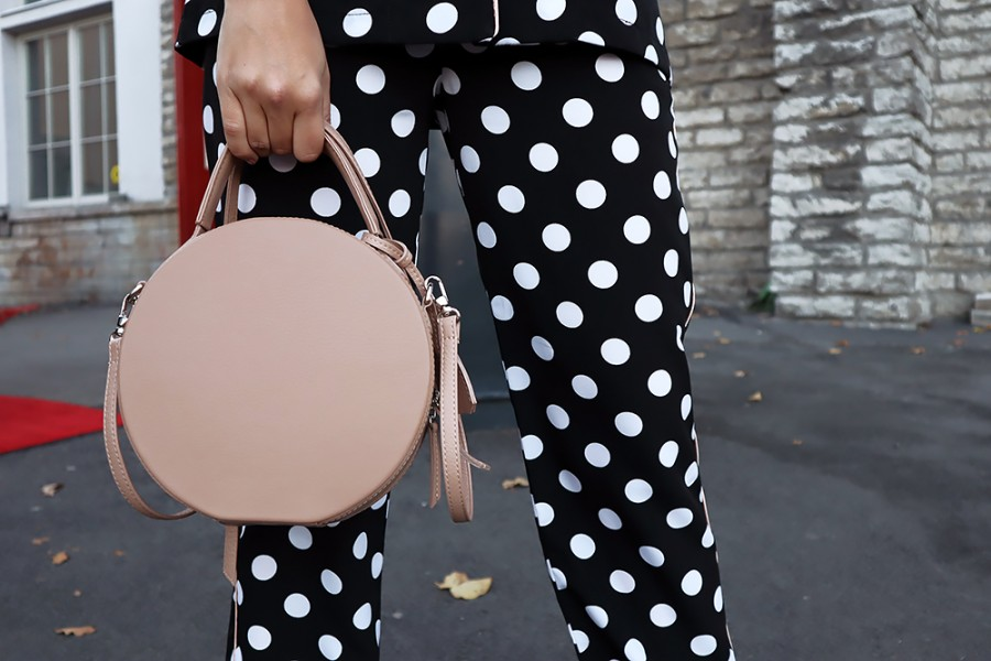 Dotted pajama outfit 4