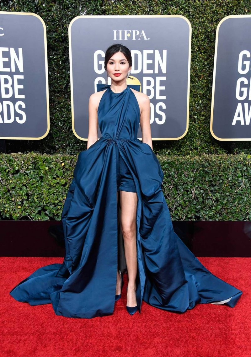 Gemma Chan Wearing Valentino Couture