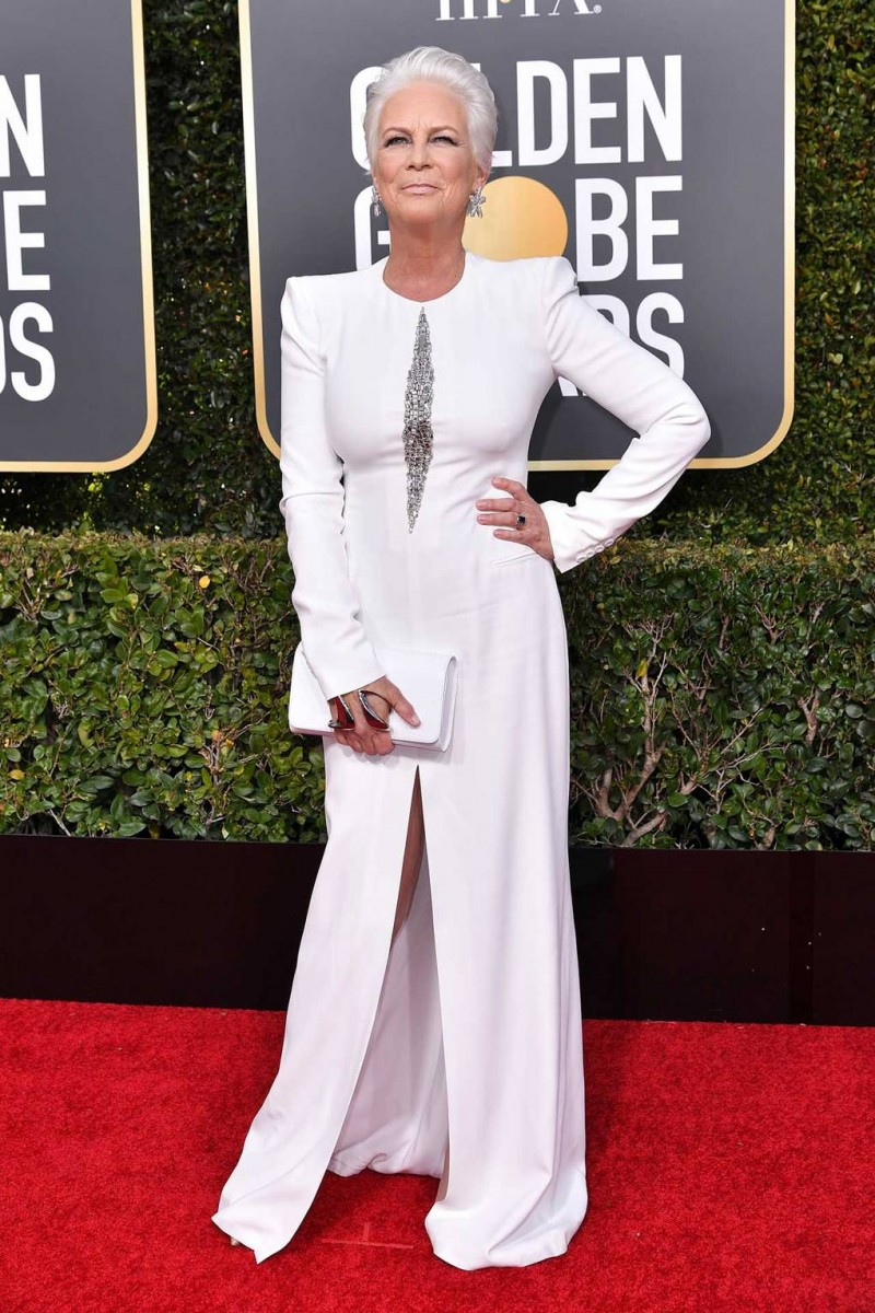 Jamie Lee Curtis Wearing Alexander McQueen