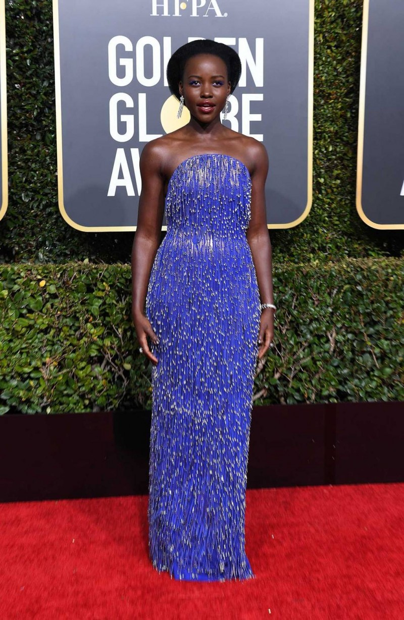 Lupita Nyong'o Wearing Calvin Klein By Appointment