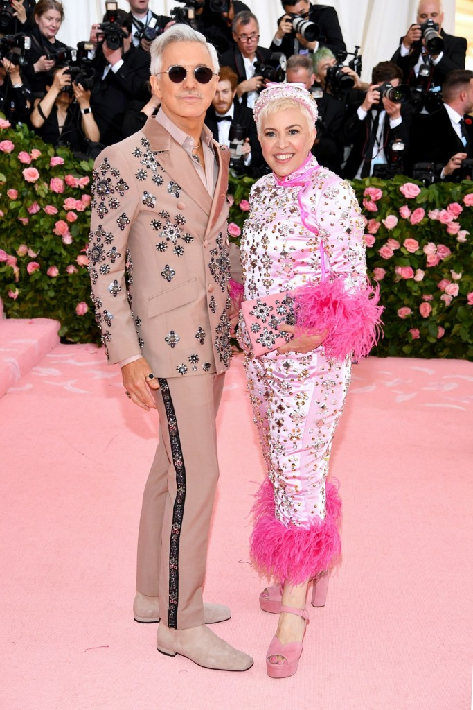 Baz Luhrmann and Catherine Martin wearing Prada