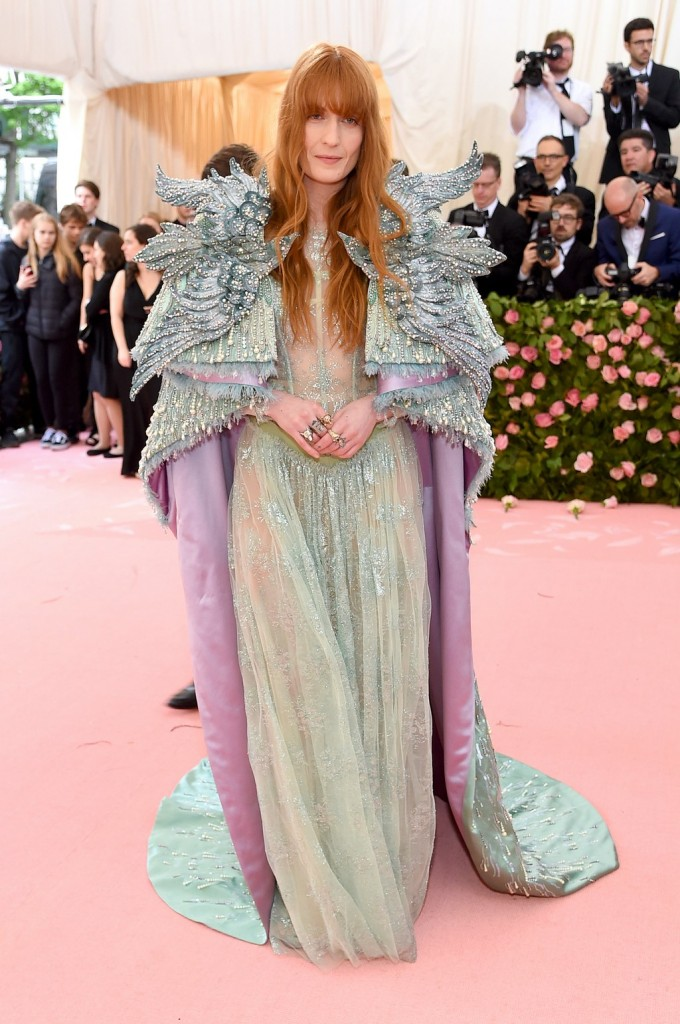 Florence Welch wearing Gucci
