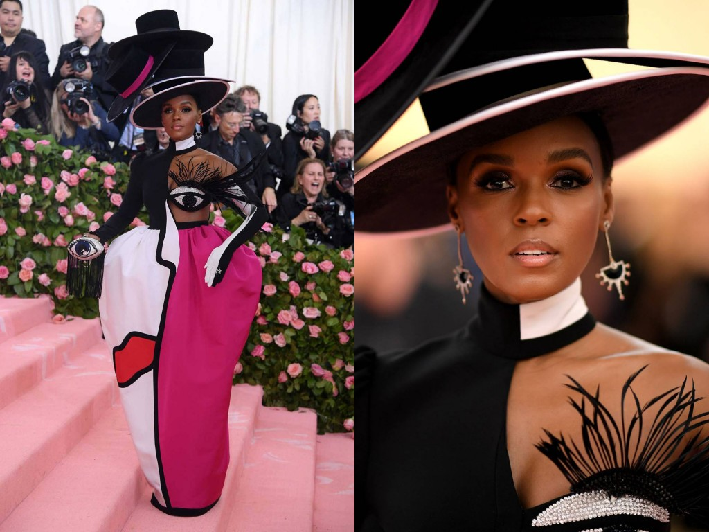 Janelle Monáe wearing Christian Siriano2