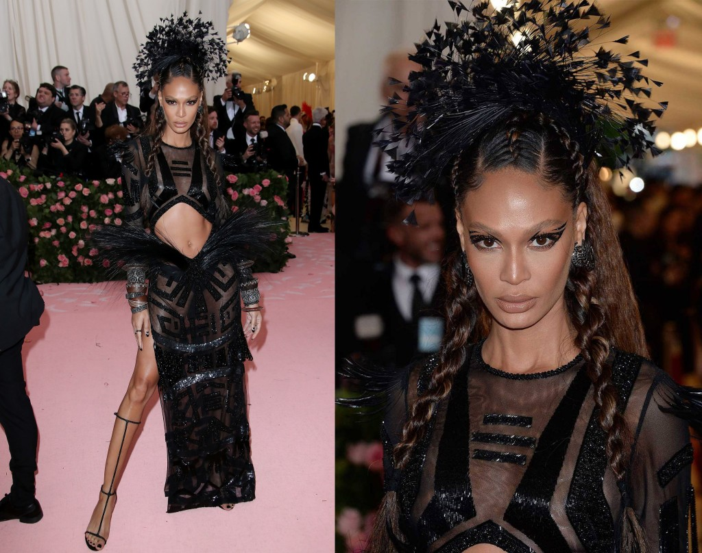 Joan Smalls wearing Parbal Gurung2