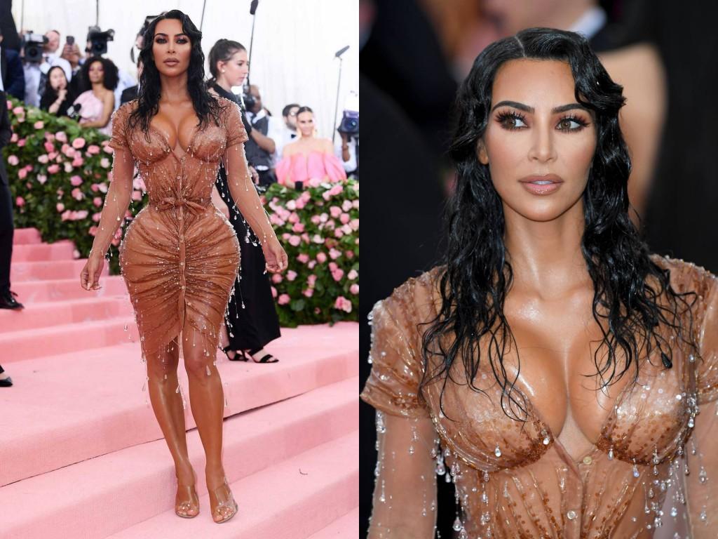 Kim Kardashian-West wearing Thierry Mugler 2