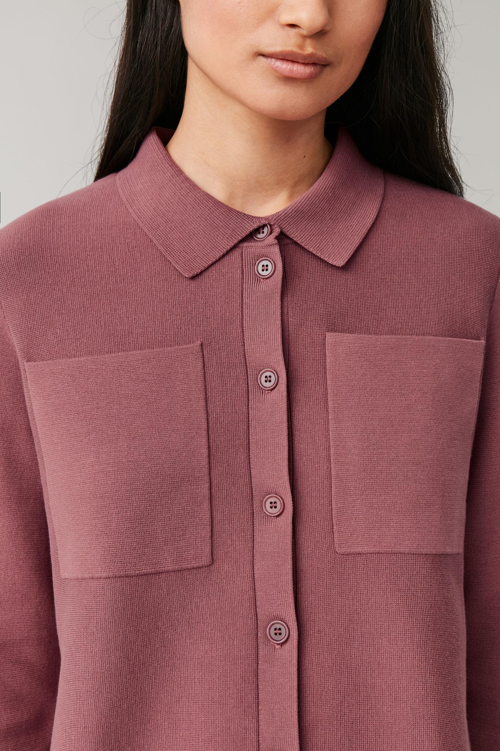 COS jersey knit suit