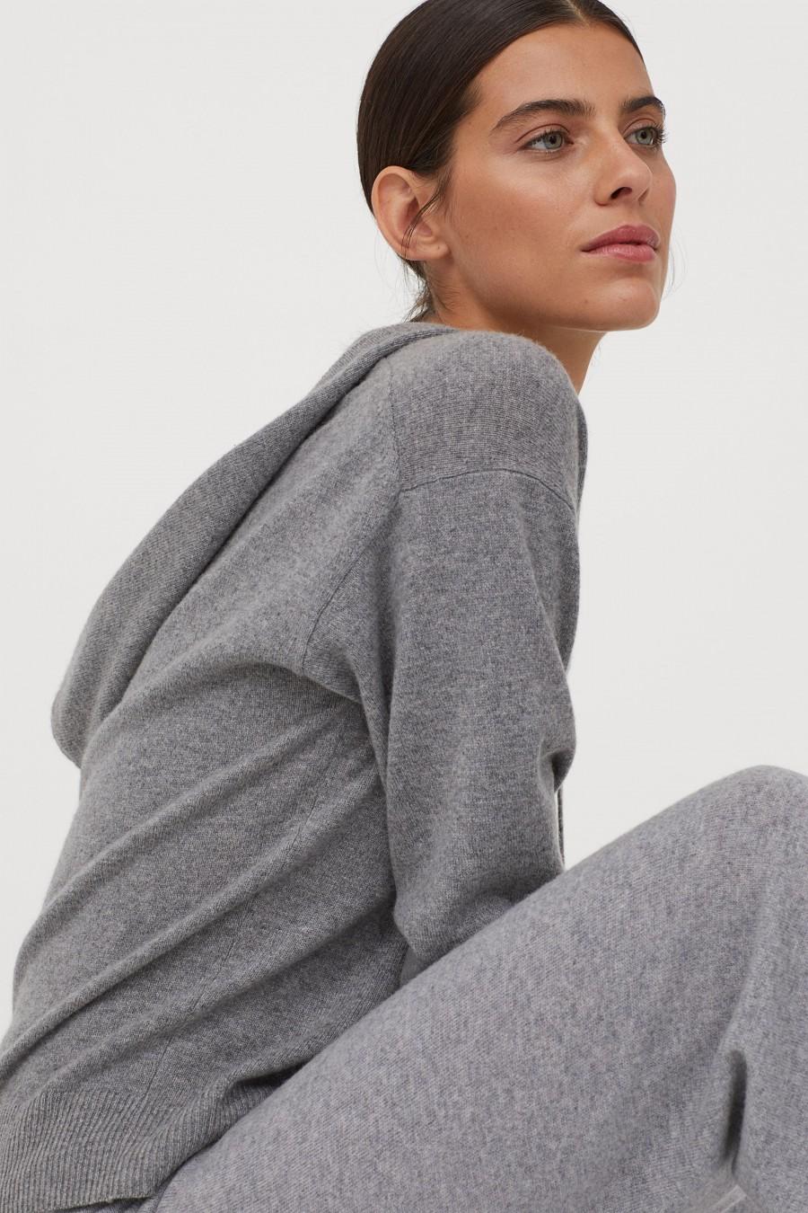 h&M cashmere set