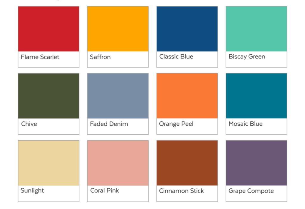 color trends pantone spring summer 2020