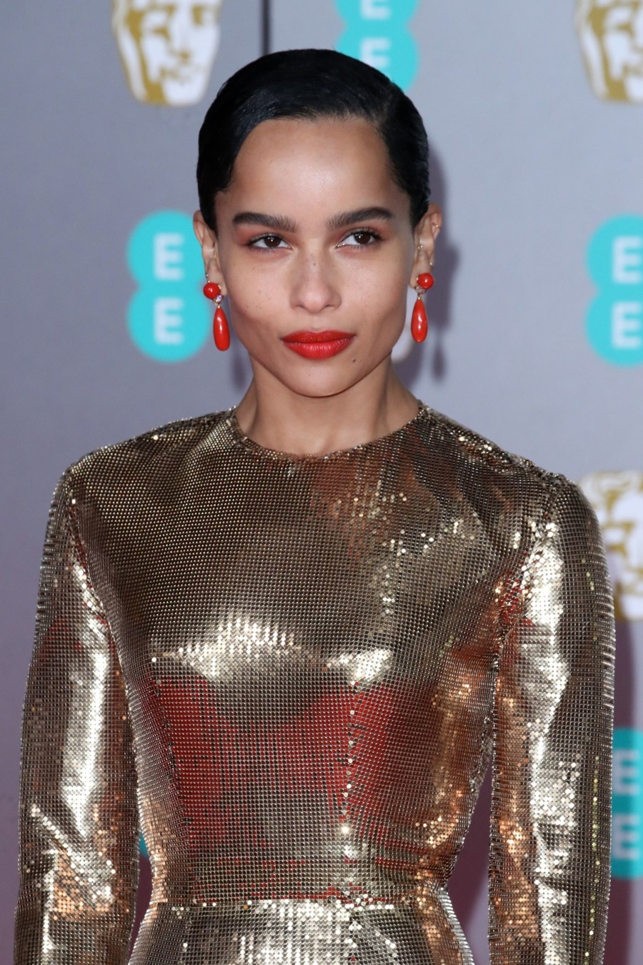 Zoë Kravitz in Saint Laurent