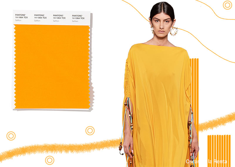 spring_summer_2020_Pantone_colors_trends_saffron