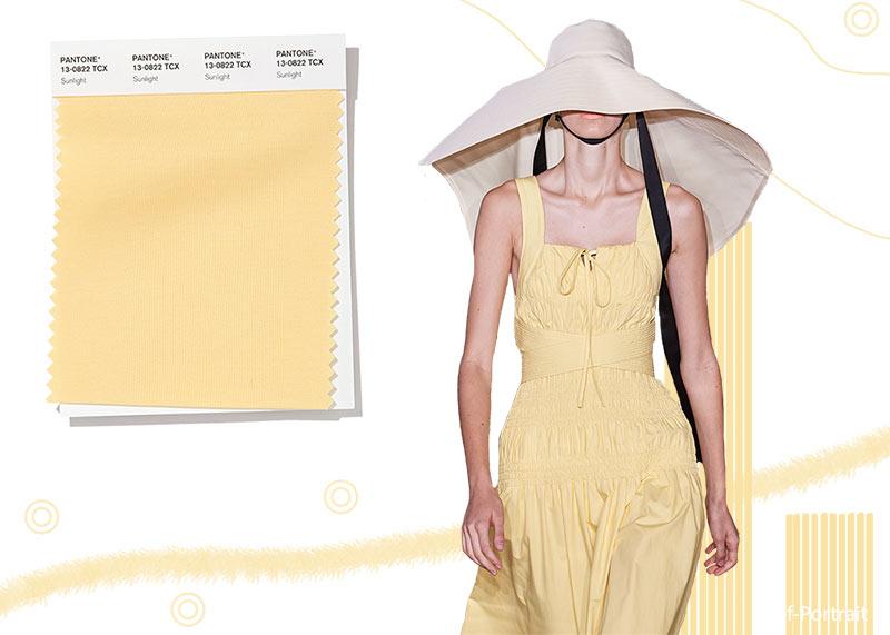 spring_summer_2020_Pantone_colors_trends_sunlight