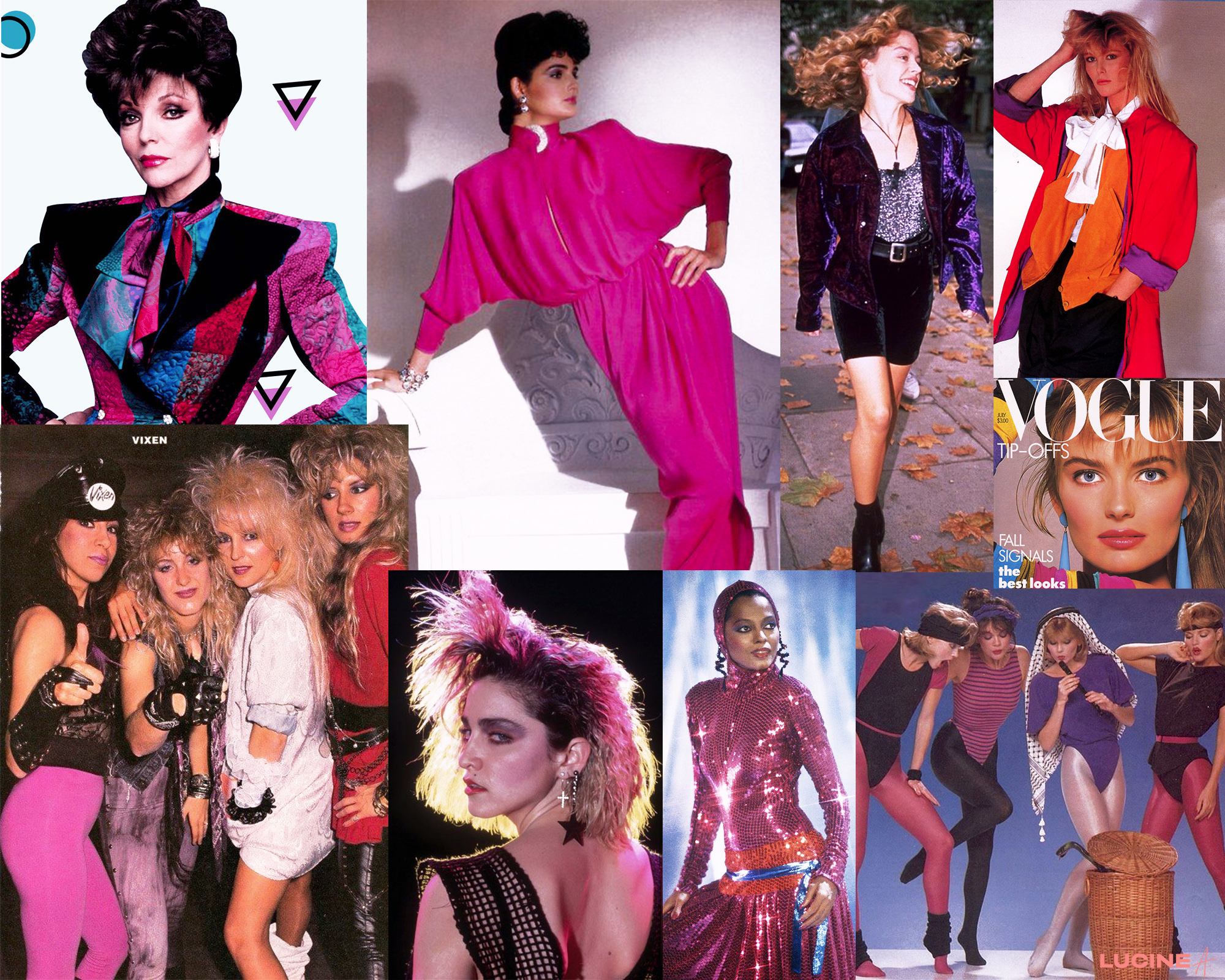 80's Fashion style